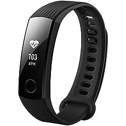 "HONOR Band 3 Wristband Activity Tracker Negro PMOLED 2,31 cm (0.91"") Inalámbrico - Rastreadores de Actividad (Wristband Activity Tracker, Negro, Negro, 50 m, PMOLED, 2,31 cm (0.91""))"