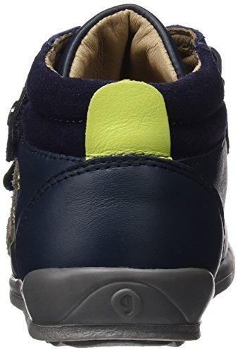 Garvalin Formby, Sneakers Hautes Garçon Bleu(A/Azul Marino)