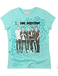 One Direction Girls' T-Shirt Turquoise Turquoise