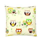 TupTam Kissenbezug Dekokissen Gemustert 100% Baumwolle, Farbe: Muster 16, Größe: 60 x 60 cm