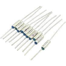 Fusible termico - SODIAL(R)10Pzs Fusible termico de aluminio TF de corte de