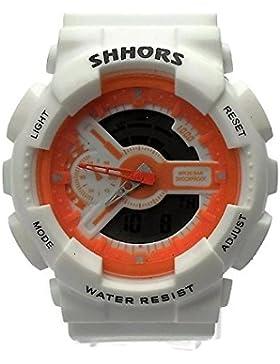 QBD digital-analog Jungen Mädchen Studenten Sport Digital Armbanduhr mit Alarm Stoppuhr Chronograph–50m Wasser...