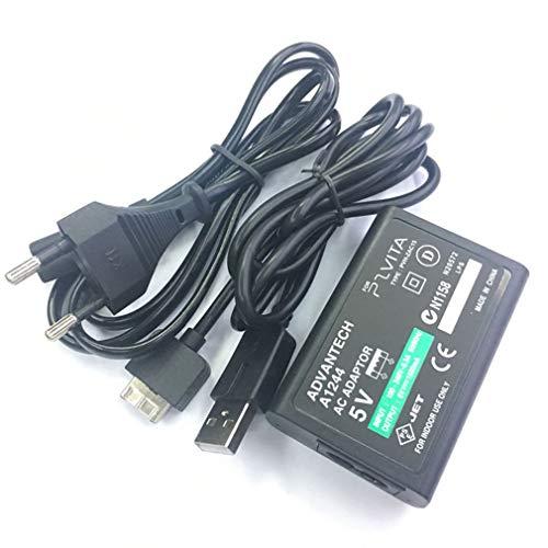 LeobooneStabile Power Charger Zuverlässige Leistung Power Adapter für Sony für PS Vita AC Versorgung konvertieren Ladegerät USB Datenkabel US-Stecker