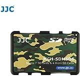 Étui pour Cartes Mémoire - Adapté pour 2 x cartes SD, SDHC or SDXC + 4 x cartes microSD, microSDHC or microSDXC (Camouflage)