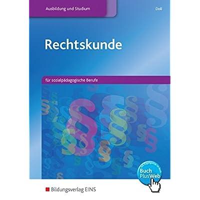 Rechtskunde für sozialpädagogische Berufe.