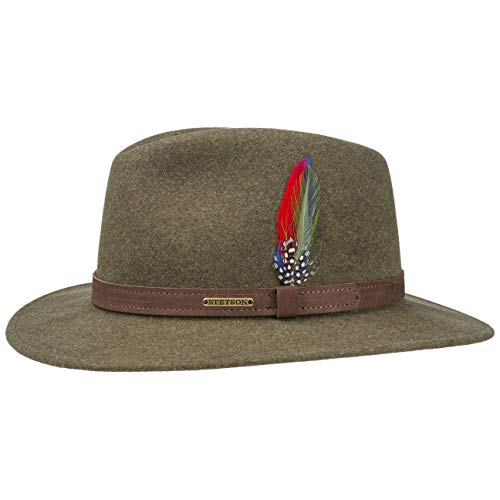 Stetson Powell Traveller Cappello Uomo  d97b1aef8771