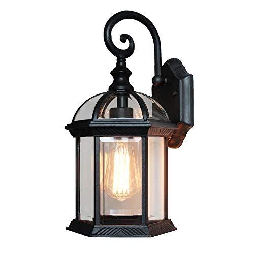 Cxmm Öl eingerieben Bronze Finish Vintage Wandleuchte Leuchte industrielle Lampe Glasschirm Dekor Laterne Beleuchtung Bauernhaus Wandlampen Metall Lichter für Haus Schlafzimmer Wohnzimmer Licht -