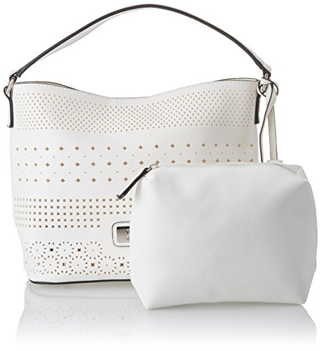 Xti Ladies 85940 Shopper, 34x24x15 Centimetri Bianco (blanco)