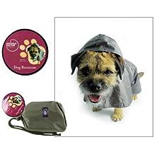 Snuggle Factor - Chubasquero para Perro (tamaño Grande, 45,72 cm),