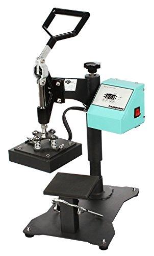 RICOO Transferpresse Ricoo T505 Textildruckpresse Textilpresse Thermopresse T-Shirtpresse Sublimation geignet für Flexfolie und Flockfolie | Farbe: Türkisblau