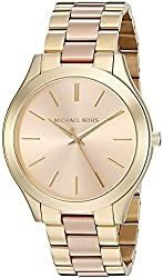 Michael Kors Analog Rose Gold Dial Womens Watch-MK3493