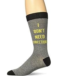 K. Bell Socks Men's Don't Need Directions Crew