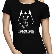 Camiseta Parodia de Darth Vader de Star Wars y Tio Sam (803)