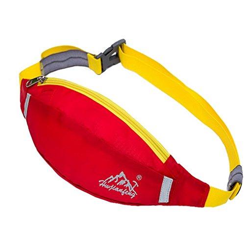 ACMEDE Sport Hüfttaschen Bauchtasche Gürteltasche für Alltagsleben,Jogging, Radfahren, Wandern und Laufen,25*12cm