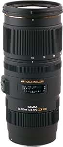 Sigma Telephoto Zoom Objektiv 50-150mm F/2,8 APO EX DC OS HSM (77mm Filterdurchmesser) für Canon Objektivbajonett