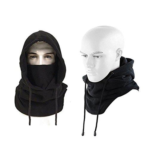 Winddichte Funktions Sturmhaube Skimask Balaclava Gesichtsmaske Nackenwärmer Motorrad Biker Snowboard Kälteschutz Cold Protection- Unisex, Einheitsgrösse