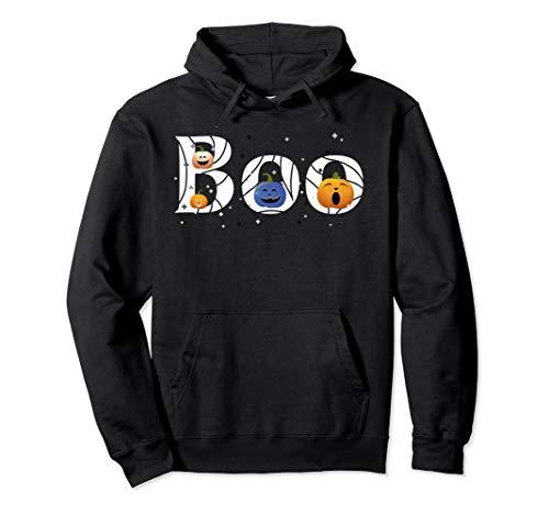 Schwester Und Kostüm Themen Bruder - BOO lustige Kürbisse, Mädchen Jungen Kinder Halloween Kostüm Pullover Hoodie