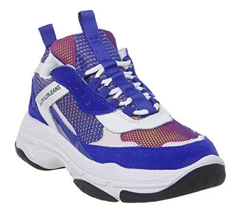Calvin Klein Jeans Maya Donna Blu Sneaker-UK 5 / EU 38