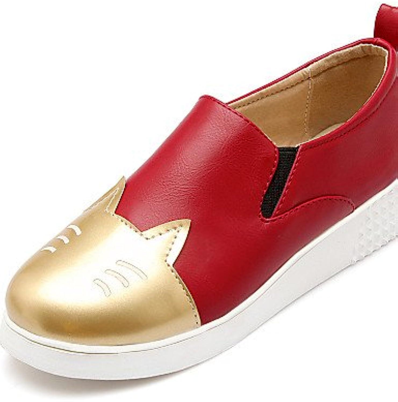 ZQ Zapatos de mujer - Plataforma - Creepers / Punta Redonda - Mocasines - Exterior / Vestido / Casual - Semicuero...