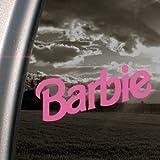 BARBIE Puppe Prinzessin Pink Decal Car Truck Window Pink Sticker