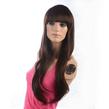 HJL-2015 femmes mode naturel ondul¨¦ Janpanese chaleur, perruque cheveux synth¨¦tiques r¨¦sistant ¨¤ la M16271-2-30 28\\