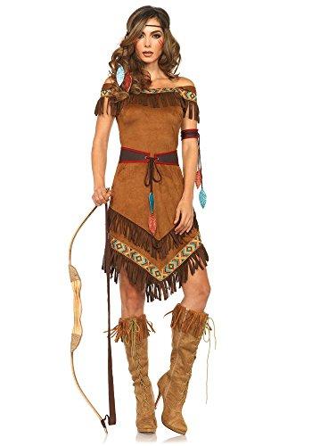Damen-Kostüm Leg Avenue - Klassische Indianerin, Größe:S/M