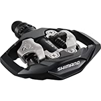 Shimano - Pedales SPD-M530 para mountain bike, color negro