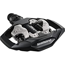 Shimano Pedales SPD-M530 para mountain bike, color negro