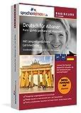 Deutsch lernen für Albaner - Basiskurs zum Deutschlernen mit Menüführung auf Albanisch -