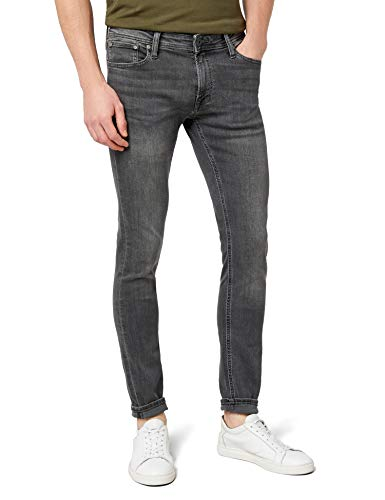 JACK & JONES Jjiliam Jjoriginal Am 010 Lid Noos Vaqueros, Grey Denim, 32W / 32L para Hombre