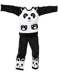 Animaux Lovely Cartoon Series pyjama pour garçons (120–Hauteur: 133cm)/Panda