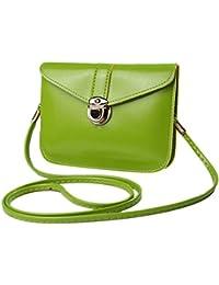 JZUG Women Messenger Bags Vintage Style PU Leather Handbag Sweet Cute Cross Body Handbags Clutch Messenger Bags...