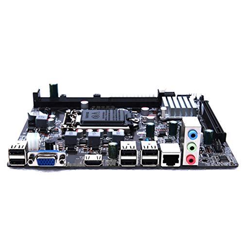 50 - H61 Escritorio Placa Madre del Ordenador 1155 Interfaz CPU Pin de actualización USB Ranuras DIMM DDR3 de Memoria Placa Base