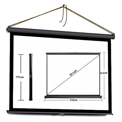 Projektor HD Bildschirm Portable Klapptisch Bildschirm für Heimkino / Büro / Kino (50 Zoll 16: 9) (Büro Platz Klapptisch)