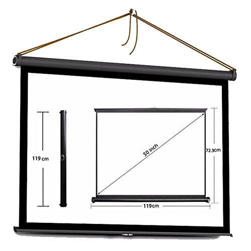 Home Care Wholesale® Projector HD Screen Portable Folding Tisch Screen für Heimkino/Büro/Kino