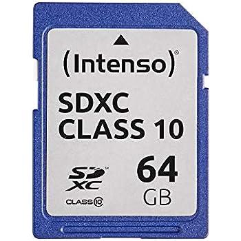 Intenso 3411490 - Tarjeta de Memoria SecureDigital de 64 GB ...
