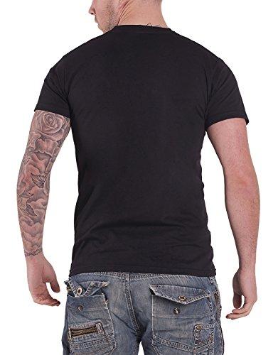 Pac-Man Herren T-Shirt Ghosts Crossing schwarz Schwarz