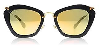 Miu Miu 0Mu10Ns 1Bo2D2 55 Montures de lunettes, Noir (Black Sand/Greymirrorrosegold), Femme (B00YX9STAC) | Amazon Products