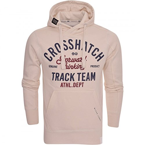 Crosshatch Mens Designer Overhead Hoodie Hooded Jumper Jacket Sweatshirt Top