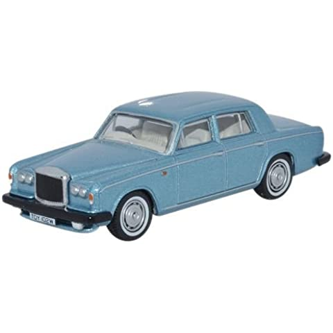 Oxford Diecast - Modelo a Escala 1:76 de Bentley T2 Saloon 76BT2001. Azul Caribeño