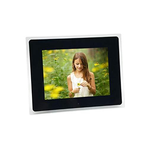 NINI 10,4 Zoll Acryl-Border-HD-LCD-Multi-Funktion Digital Photo Frame Werbemaschine/Elektronisches Fotoalbum,Black (Photo Wifi Cloud-digital Frame)