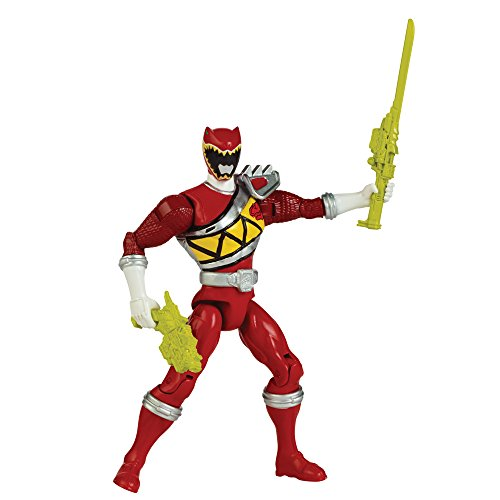 Power Rangers – Dino Charge, Action-Figur Ranger, 12,5 cm, Rot (Power Ranger Action Hero)
