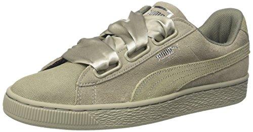 Puma Suede Heart Pebble Wn's, Zapatillas para Mujer, Gris (Rock...