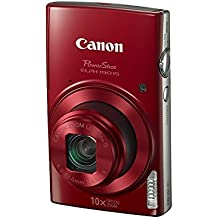 """Canon PowerShot ELPH 190 IS Compact camera 20MP 1/2.3"""" CCD 5152 x 3864pixels Red - Digital Cameras (20 MP, 5152 x 3864 pixels, CCD, 10x, HD, Red)"""