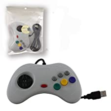 Childhood PC USB Controller Gamepad Joypad For Sega Saturn System Classic Style
