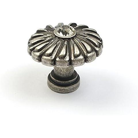 L'antiquariato europeo unico foro di placcatura in argento antico in