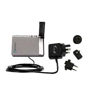 Un Chargeur Secteur (100 - 240 V AC) Compatible Avec le Sony Ericsson HCB-100E équipé de la Fonction Veille