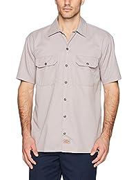 Dickies Herren Freizeithemd Work Shirt Short Sleeved