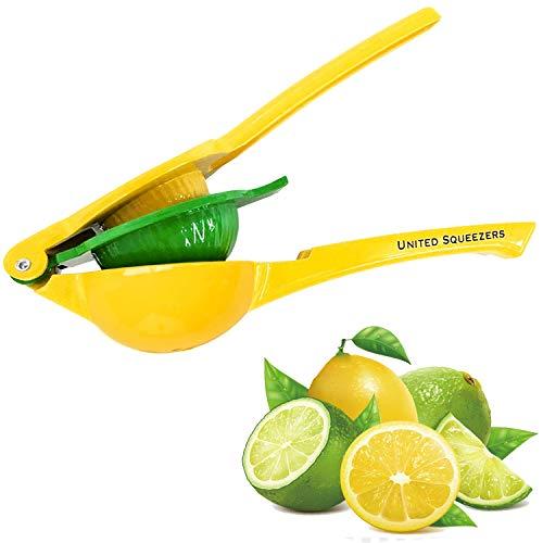Exprimidor manual de limón United - Hecho de aluminio - Exprimidor de cítricos - Diseño...