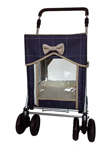 Petmobil (LARGE) Combination Set by Sholley in Three Colours, Folding, Strong & Stable Pet, Dog Stroller, Transporter… 2